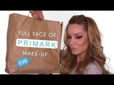 £36 Full Face MakeUp Tutorial Using Primark MakeUp | Shonagh Scott | ShowMe MakeUp