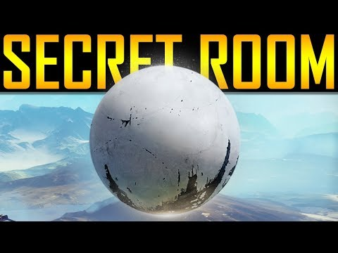Destiny 2 - SECRET TOWER ROOM!