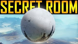 Destiny 2 - SECRET TOWER ROOM!