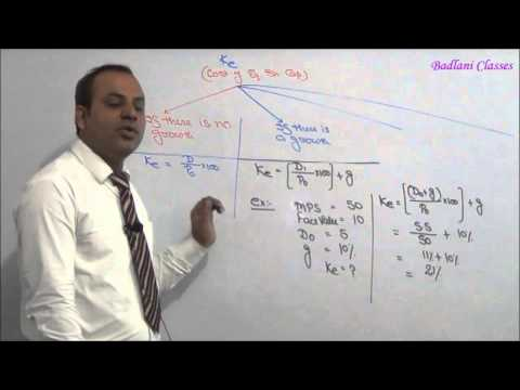 Cost of Capital - Lecture 2