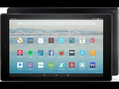 Amazon Fire HD 10 REVIEW 2017