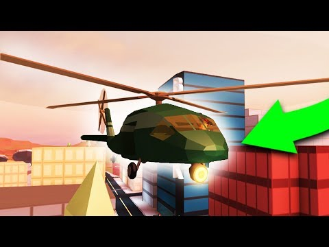 BUYING THE $1,000,000 ARMY HELICOPTER! - Jailbreak 1 Year Hang Glider Helicopter Missile Update