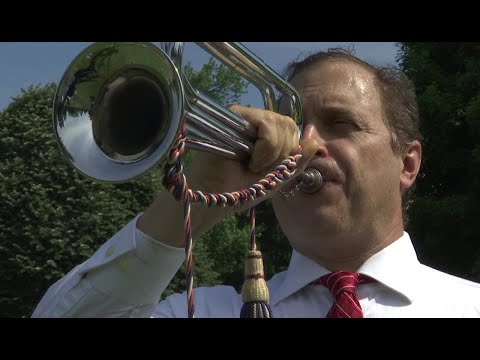 Bugler returns year after year for two decades of Memorial Day ceremonies
