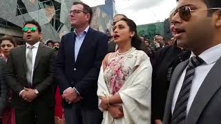 Proud Moment: Rani Mukerji hoists the Indian National Flag in Melbourne | IFFM 2018