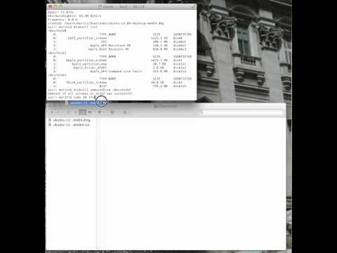 Bootable Ubuntu USB-Stick in OSX