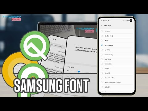 How To Install Font Style On Samsung Oreo Devices