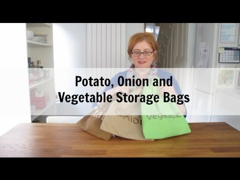 Vegetable Storage Bags Review (potato and onions go in them too)
