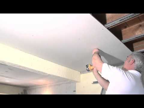 How to install a sound proof ceiling