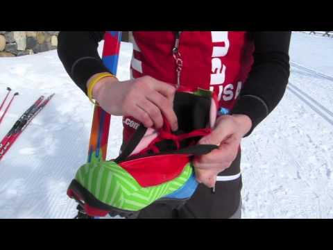 Alpina Action and ASK skis and boots