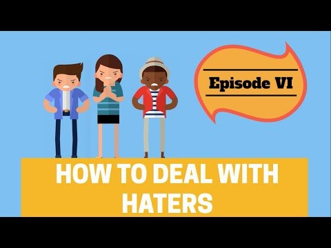 The Pochologist Episode 6   (How To Deal With Haters) Filipino/Tagalog Motivational Videos