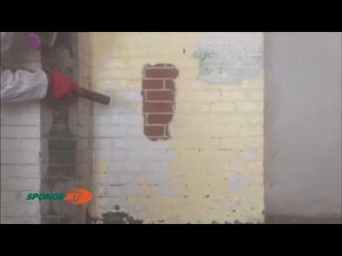 Lead Paint from Interior Brick Building