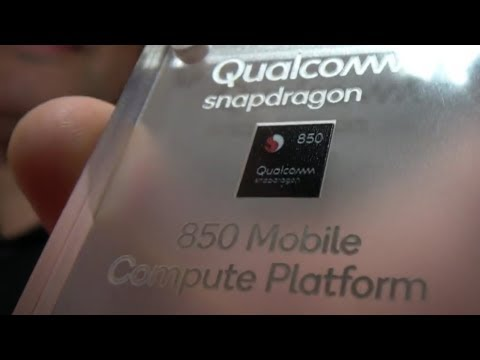 Qualcomm Snapdragon 850 for Windows 10 Laptops