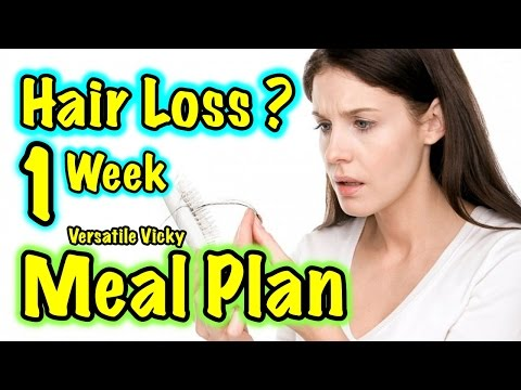 How to Stop Hair Fall for Men & Women Naturally | Foods to Prevent Hair Loss | Hair Meal Plan | Diet