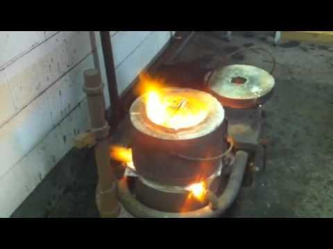 Metal Refinery Gold Melt
