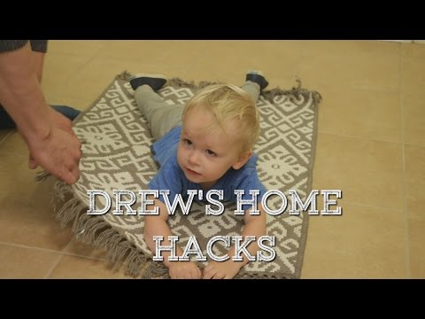 Drew Scott's Home Hacks: How to Stop Your Area Rug From Slipping