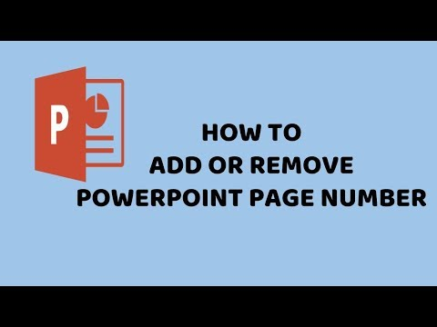 How to Add or Remove PowerPoint Page Number | PowerPoint 2016 Easy Tutorials in Hindi