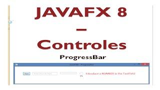 JavaFX 8 Tutorial - Progress Bar - #20 - IranTube | Iranian