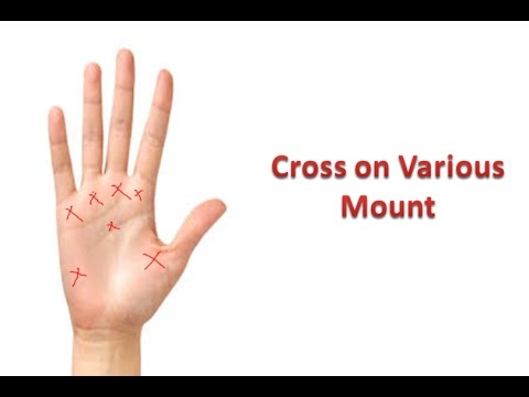 Cross Sign in Palmistry | X sign on hand tells a lot | हथेली पर क्रॉस का महत्व