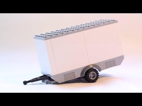 How to build custom LEGO MOC Trailer