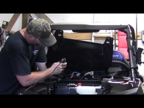 Installing aditional switches in the 2015 RZR 900S!
