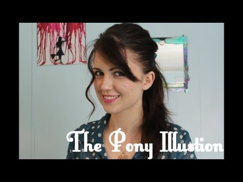 The Ponytail Illusion (How to Make Your Hair Look Longer!)