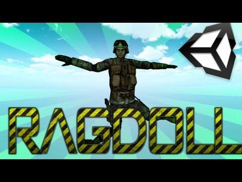 Unity 3D Ragdoll Easy Tutorial