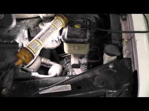 MAF sensor code P0102 from bad engine computer - (Chevy van)