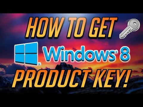 How to Get Windows 8 Product Key FOR FREE [2018 Tutorial]