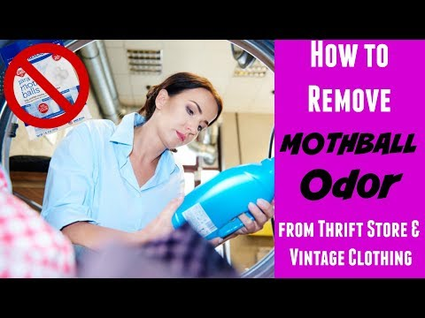 How to Remove Mothball Odor from Thrift Store Clothing