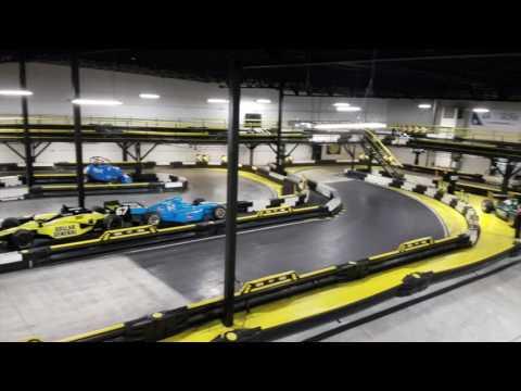 Fast Food  Indoor Go Kart Track at Indianapolis Restaurant