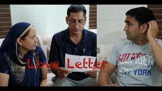 Love letter pakda gaya - | Lalit Shokeen Films |