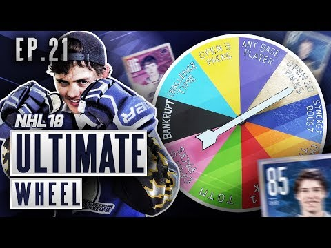 ULTIMATE WHEEL - S2E21 - NHL 18 Hockey Ultimate Team