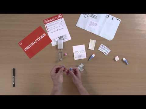 How to use the TakeATestUK HIV Postal Test Kit