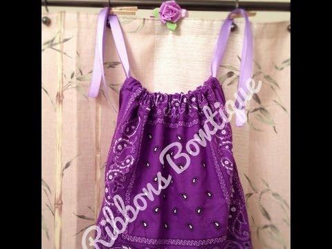 Ribbons Bowtique: Bandana Dresses!