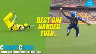 Best ONE HANDED Catches in the Cricket History - Please comment the Best One !!