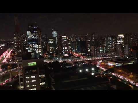 night view grand hyatt