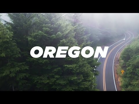 Oregon • From Coast to Mountain (incl. Drone/Aerials) • 4K