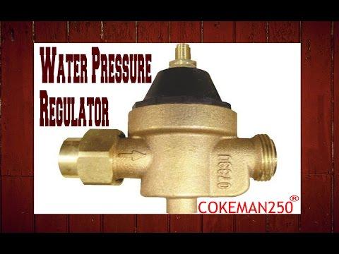 Locating And Replacing A Water Pressure Regulator