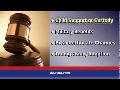 Legal DNA Paternity Testing by DNA Services of America