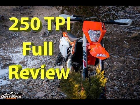 2018 KTM 250 XC-W TPI FULL Review   KTMs First Major Production EFI 2 Stroke Model in USA