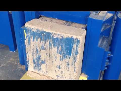 Wood sawdust block making machine/Cocopeat briquette press machine/نشارة الخشب كتلة ماكينة