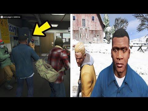 O que acontece se Jogar com Franklin no Prologo? GTA 5