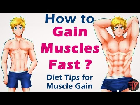 How to gain muscle fast | bodybuilding muscle gain diet tips  | Hindi | Fitness Rockers