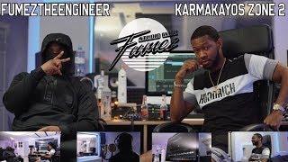 Karma #Zone2 | Studio With Fumez | S2 EP6 | Talks fresh home, drill music, going baitface + more