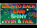 [Live] Back to Back Shiny Huntail Fail & Scizor Win in the Omega Ruby Randomizer!