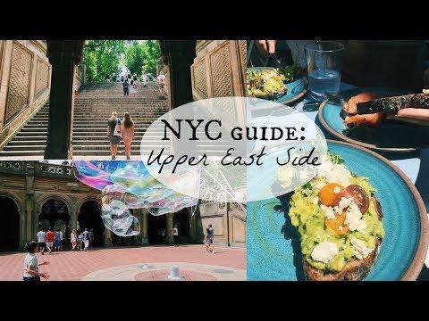 NYC GUIDE: UPPER EAST SIDE- live like a local |Kaela Kilfoil