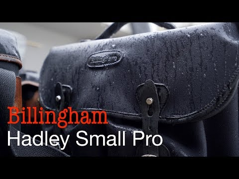 Which Billingham Hadley should you get? (with rain test!)
