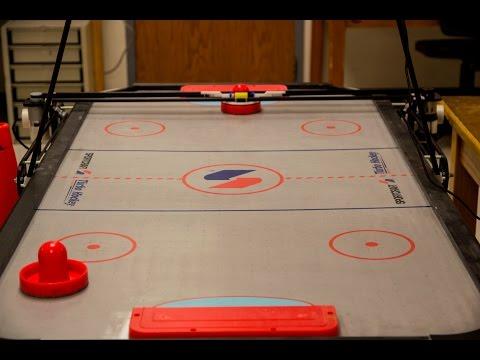AHA! Air Hockey Autonomous: Robot Air Hockey Using Computer Vision and ARM A7