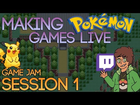 Making Pokemon Games Live (Game Jam Session 1)