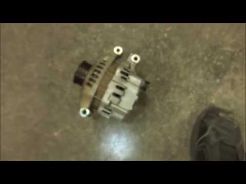 2004 Honda CR-V Alternator replacement tips